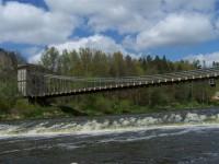 Řetězový most ve Stádleci