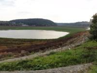 Plumlov - vypušťená přehrada