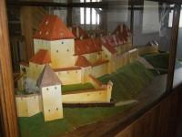 model původního vzhledu hradu