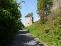 zrekonstruovaná hradní věž