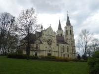 Novogotický kostel Narození Panny Marie v Orlové