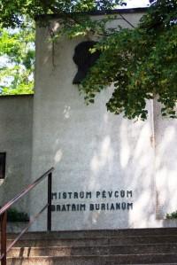Pomník bratří Burianů