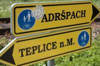 Cyklistická stezka Adršpach - Teplice nad Metují