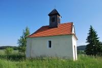 Kaple sv. Antonína na místě bývalého hradiště