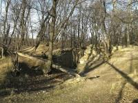 Oblast zbytků hradu v Kunratickém lese