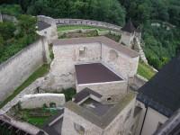 Pohled z ochozu Trenčianského hradu