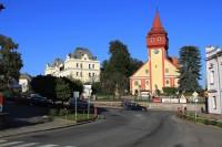 Světlá nad Sázavou - kostel a radnice
