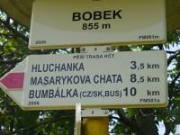 Rozcestník Bobek
