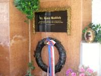 Náhrobní deska H.Kudlicha