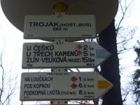 Místo startu - Na Trojáku