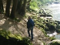 soutěska, kamenická řeka