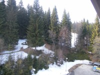 Jarní lyžovačka na Šumavě