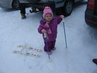 Andělka bude lyžovat