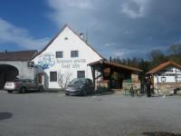 restaurace Český Mlýn nedaleko Krumlova