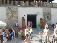 Festival dřeva na hradě