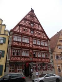 Dinkelsbühl město a vánoční trhy