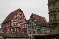 Rothenburg ob der Tauber, město a vánoční trhy