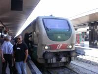 noční vlak z Mnichova dorazil do Říma
