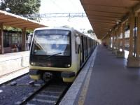 příměstská železnice na Lido di Ostia