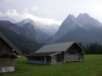 S dětmi na Zugspitze