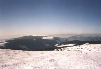 Pohled na horní nádrž
