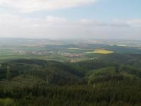Výhled z rozhledny Brdo