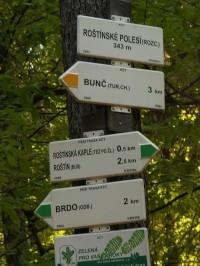 Rozcestí Roštínské polesí