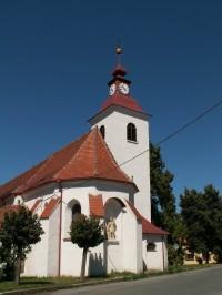 Kostel v Čebíně