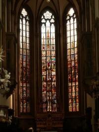 V katedrále sv. Petra a Pavla, Brno