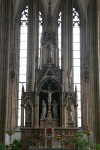 Oltář kostela sv. Jakuba, Brno