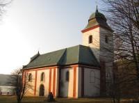 Zahrádka, kostel sv. Víta