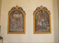 Kostel Jména Panny Marie ve Křtinách: 3. část křížové cesty.