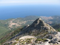 Pohled z Monte Capanne