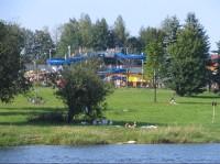 Olešná, Aquapark na západním břehu