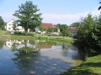 Rybníček ve středu obce