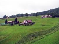 Pohled z lanovky na Portášky