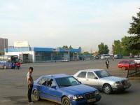 Alamty autobusové nádraží
