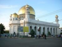Almaty mešita u Puškinovy ulice.