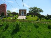 Almaty horní stanice lanovky na Kok-Tobe.