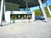 Almaty dolní stanice lanovky Medeo - Šimbulak.