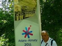 Almaty připomínka Asijských zimních her.