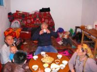 Na návštěvě u kazazšské rodiny.