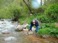 Rezervace Turgan voda v potocích je pitná.