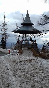 Vysoké Tatry - Hrebienok - altánok s vyhliadkou