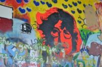 Praha - Malá Strana - Lennonova stena