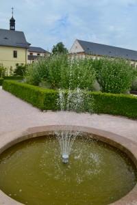 Bylinková zahrada u Hospitalu Kuks
