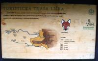 Harrachov - turistická trasa Liščí stezka, jej detská časť