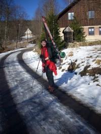Dvoudenní skialpový přechod Králického Sněžníku přes Trojmorski Wierch a Malý Sněžník