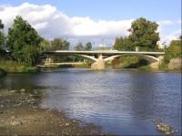 Most přes řeku Sázavu