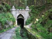 Tunel na plavení dřeva (Jelení)